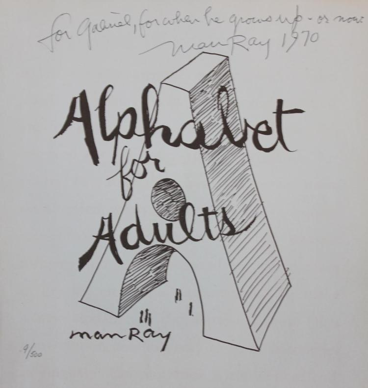 Man Ray, Alphabet for Adults cover