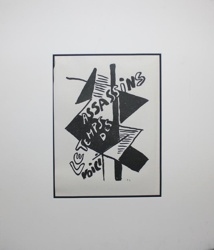 Fernand Leger, from