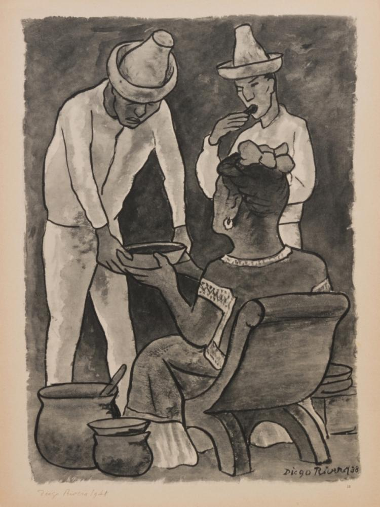 After Diego, from Acuarelas, 1935-1945