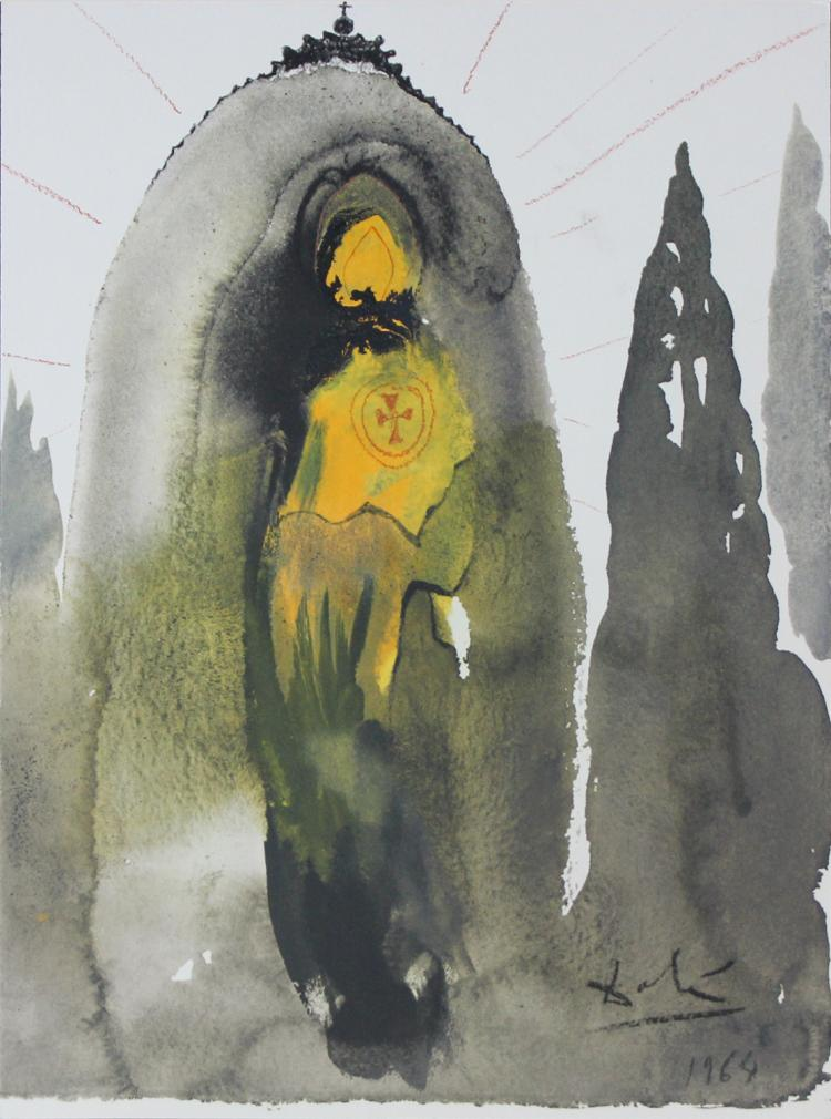 Salvador Dali, from Biblia Sacra