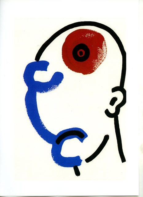 Keith Haring, from The Story of Red and Blue