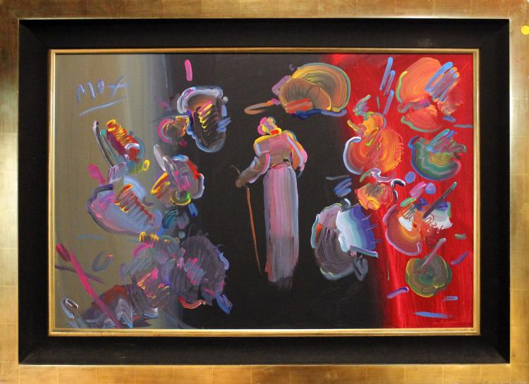 Peter Max original oil painting