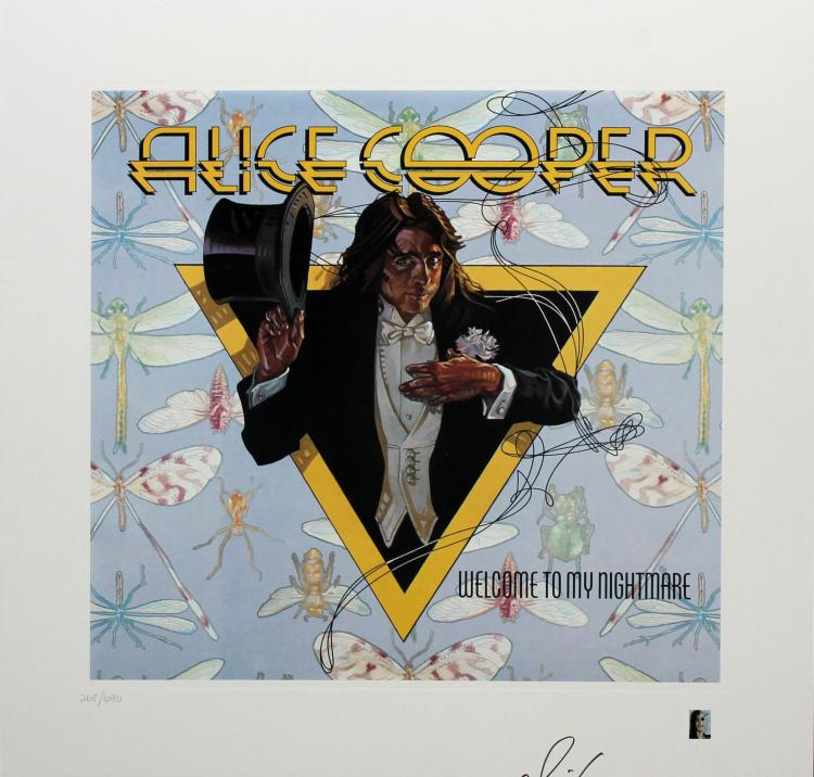 Alice Cooper / Welcome to My Nightmare by Drew Struzan