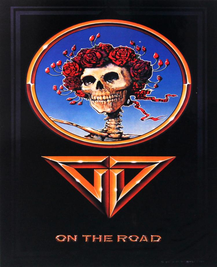 Grateful Dead On the Road by Stanley Mouse & Alton Kelley