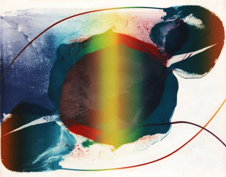 Phenomena Open Light by Paul Jenkins