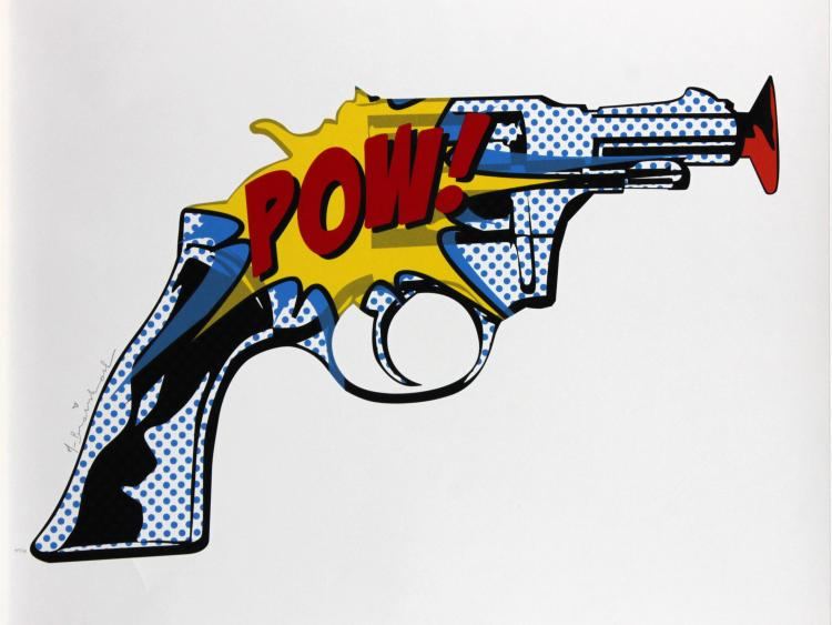 Pow by Mr Brainwash