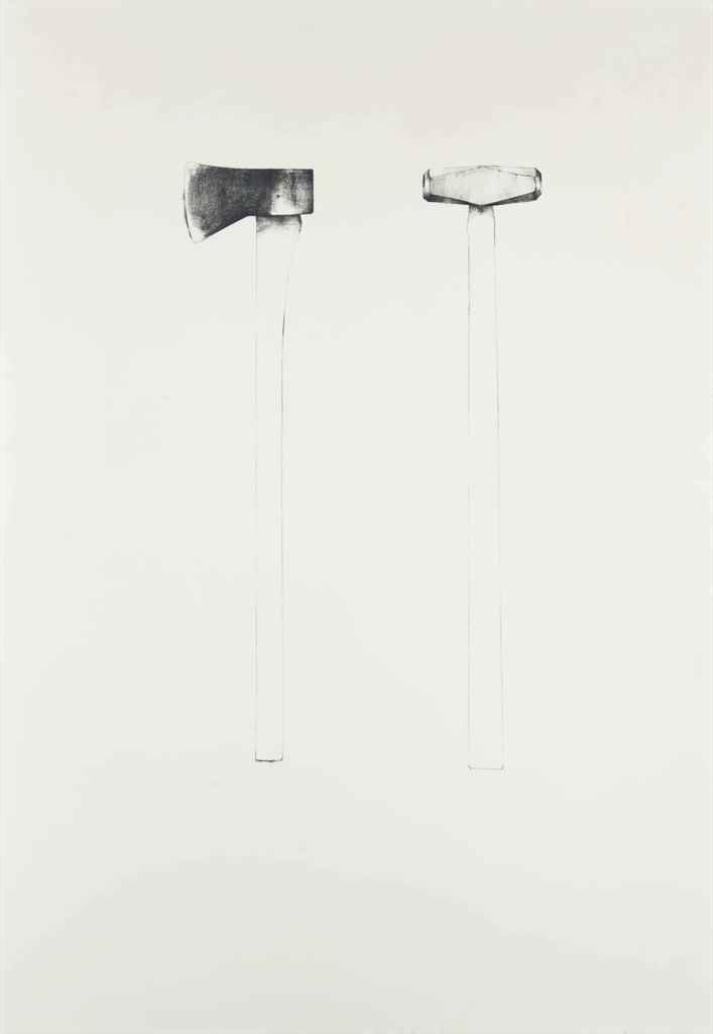 Sledgehammer and Axe by Jim Dine