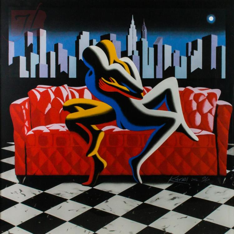 Loved by Mark Kostabi