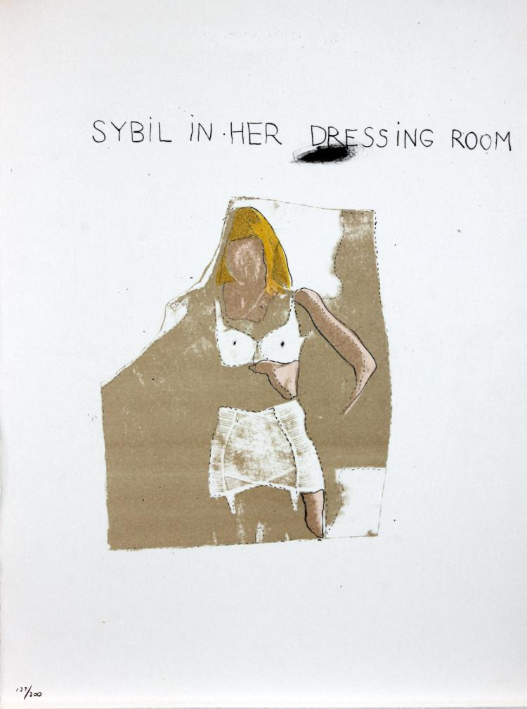 Sybil in Her Dressing Room by Jim Dine