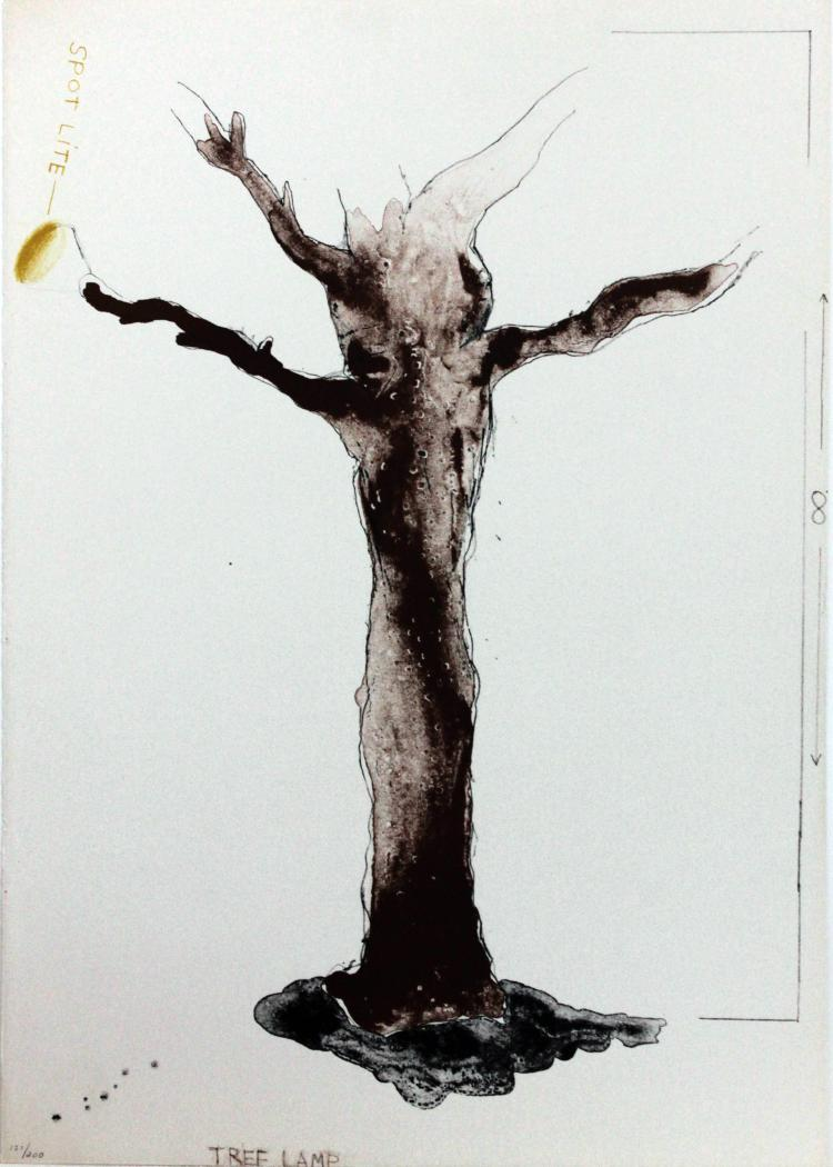 Tree Land by Jim Dine