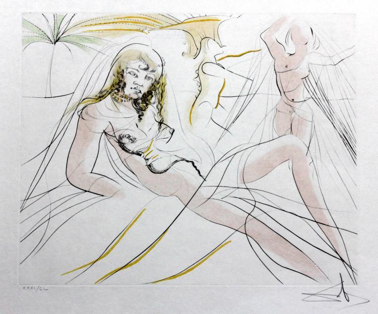 Cleopatra by Salvador Dali