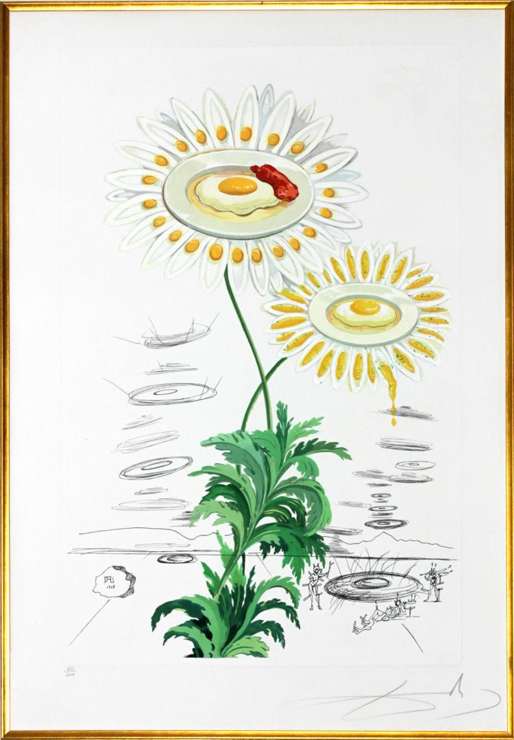Chrysanthemum Frutescens by Salvador Dali