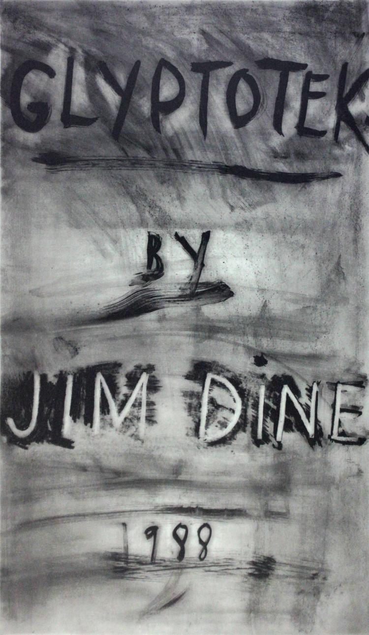 Glyptotek cover by Jim Dine