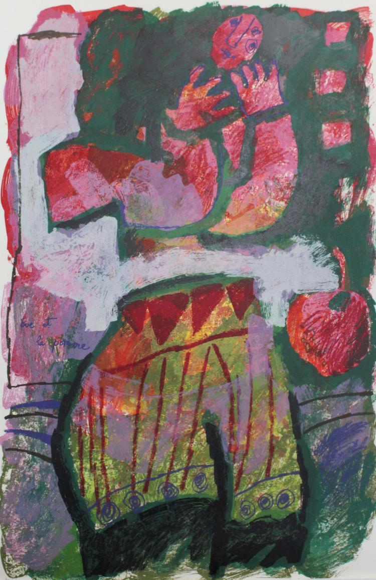 L'enfant et les Violons by Theo Tobiasse