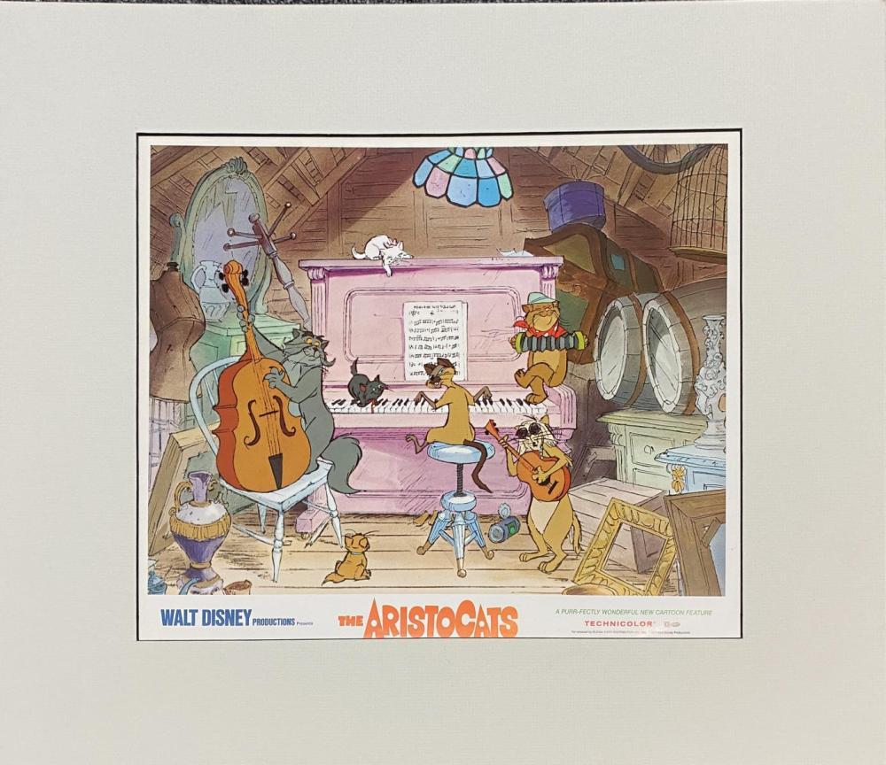 Disney - Aristocats Serigraph Cel II