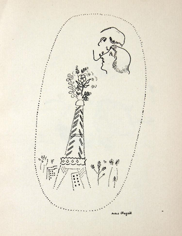Marc Chagall - Untitled from