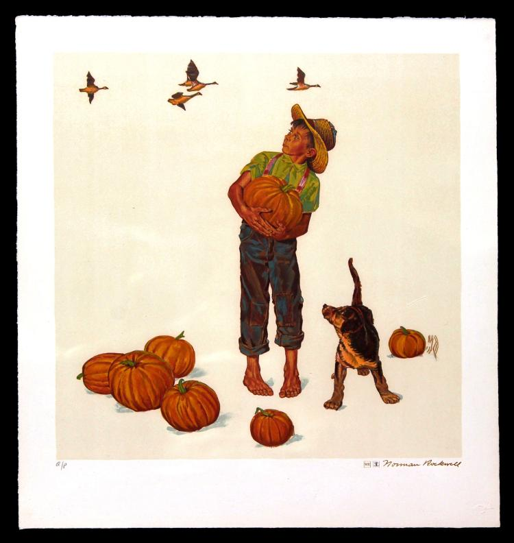 Norman Rockwell - Autumn Harvest