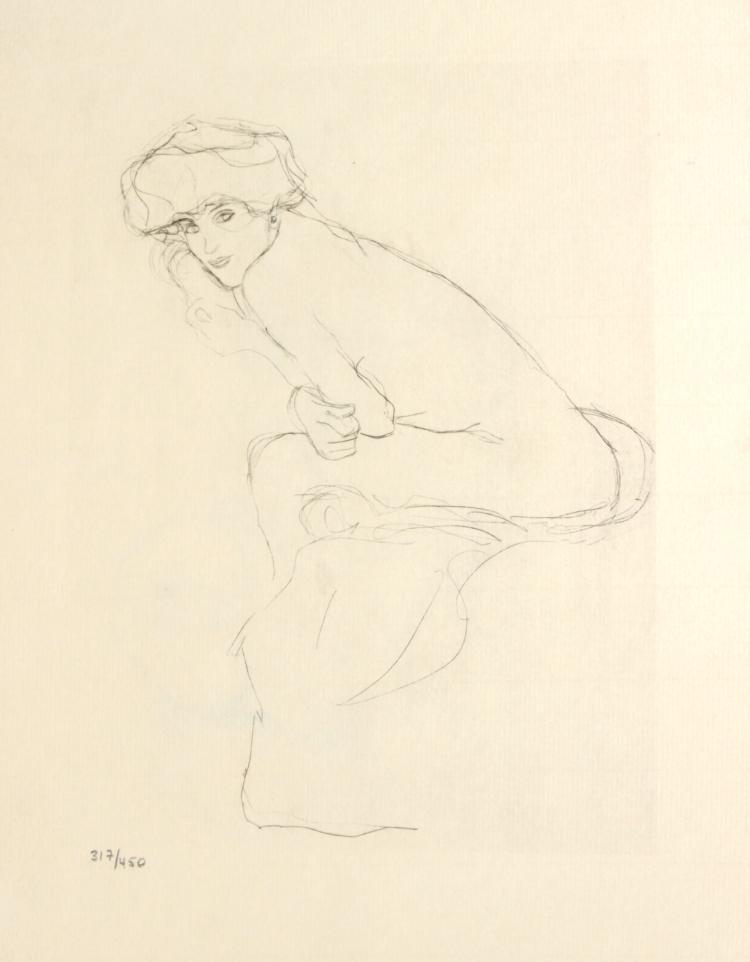 Gustav Klimt - Untitled from