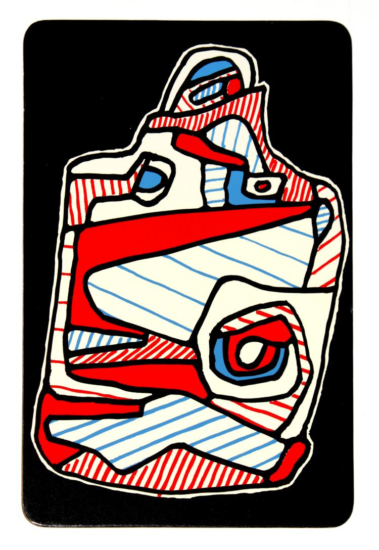Jean Dubuffet - 4: La Valise (from Banque a l'Hourlope)