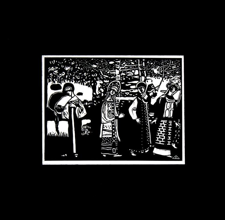 Vasily Kandinsky - Xylographies II 1909