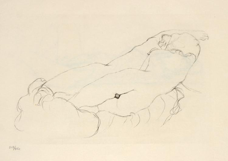 Gustav Klimt - Untitled from