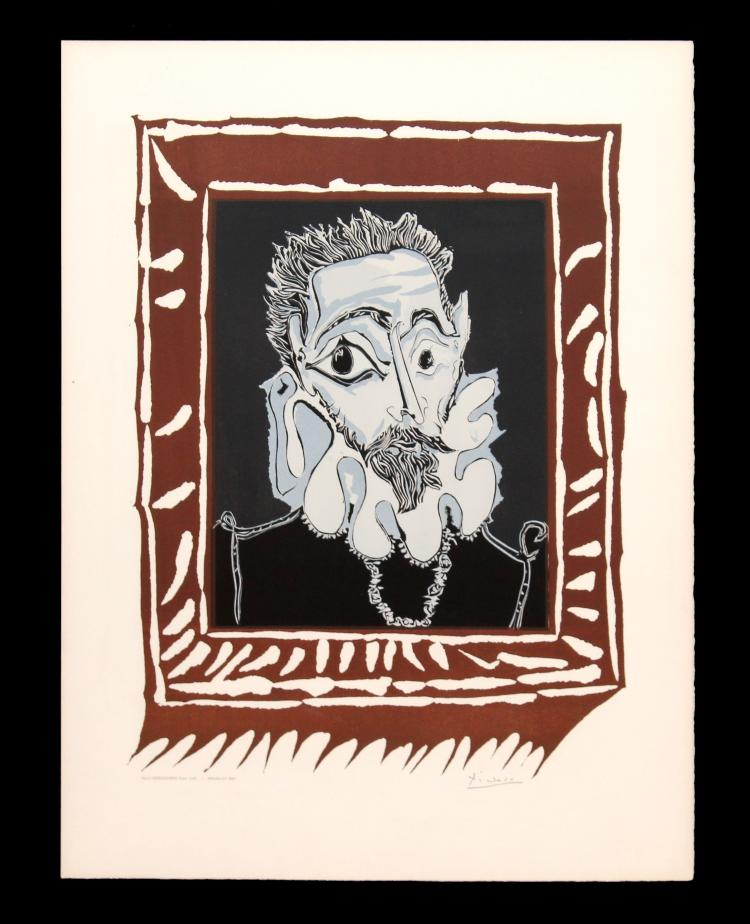 Pablo Picasso - Man with Ruff