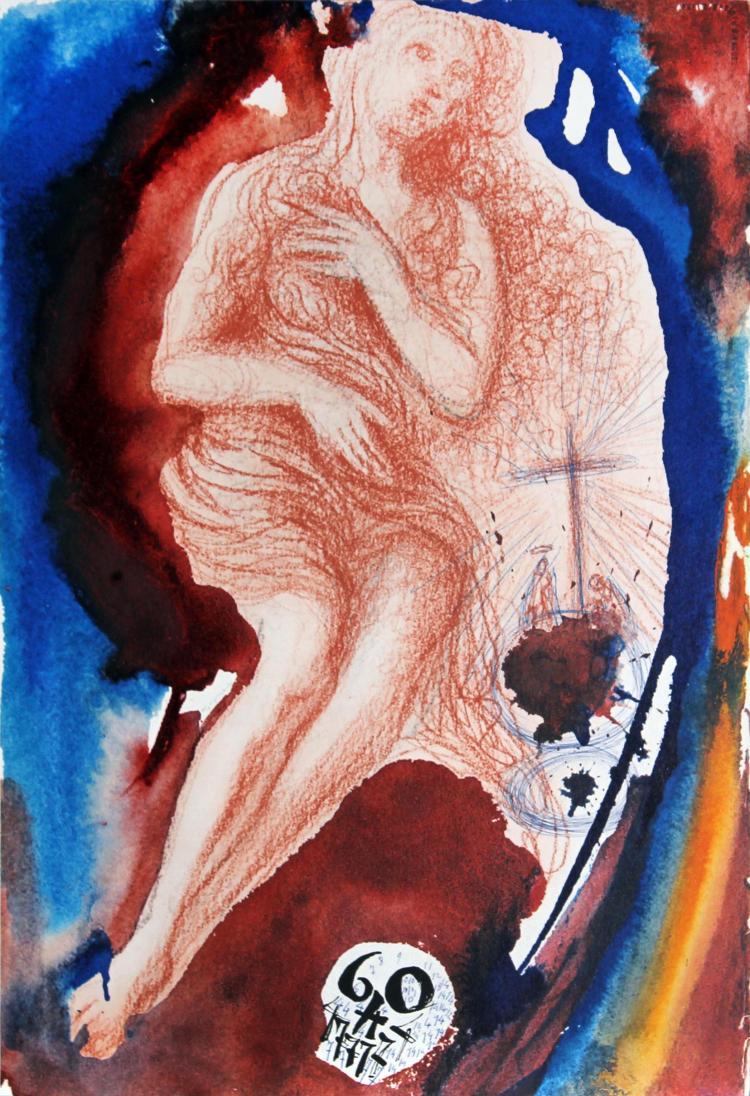 Salvador Dali - Muliere Peccatrici remittuntur Peccata
