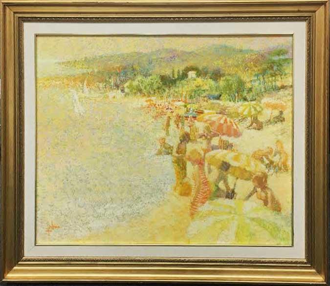 Louis Fabien Original Oil