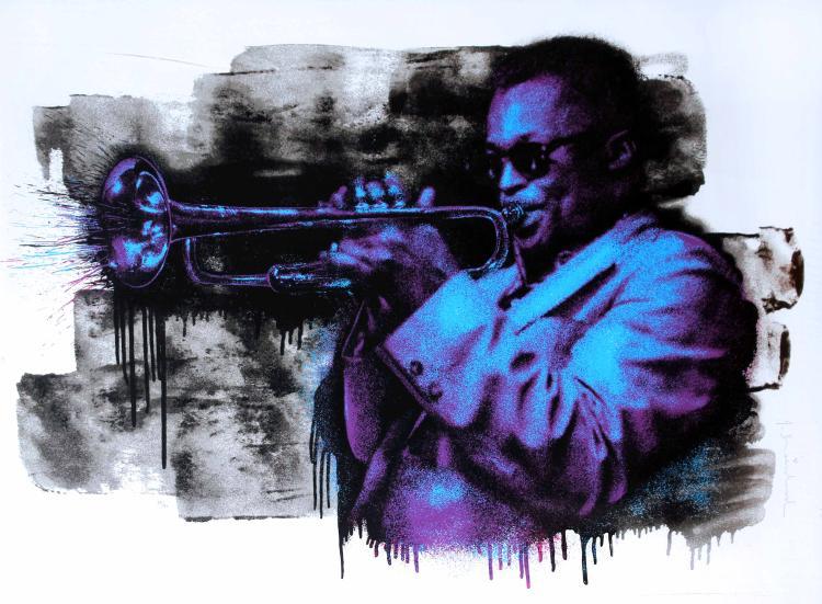 Mr. Brainwash - Miles Davis