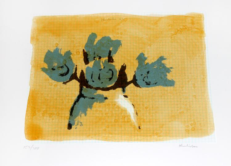 Robert Kulicke, one plate from