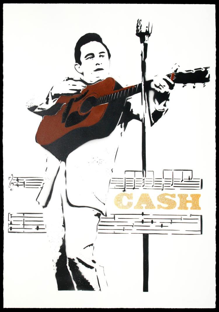 BAMBI Street Artist - CASH