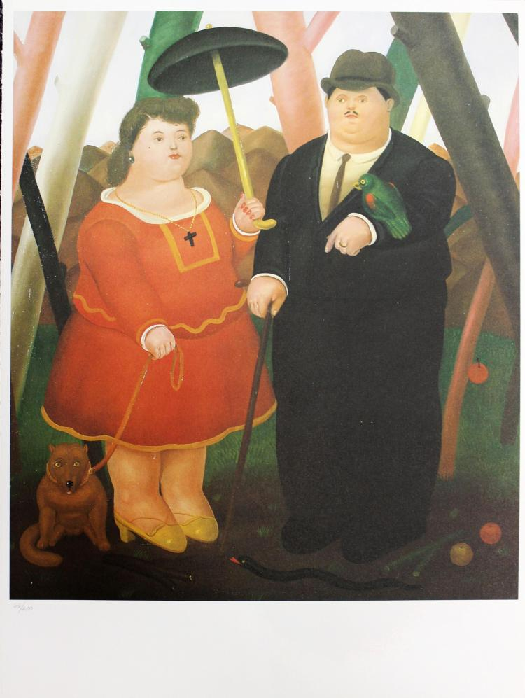 Fernando Botero (after) - Promenade