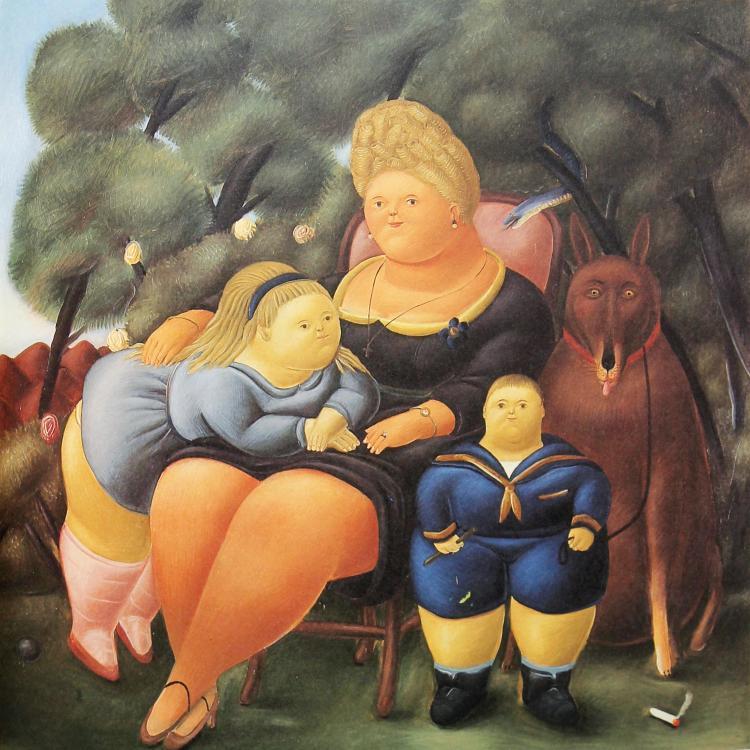 Fernando Botero (after) - Family