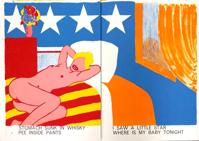 Tom Wesselmann - Nude from