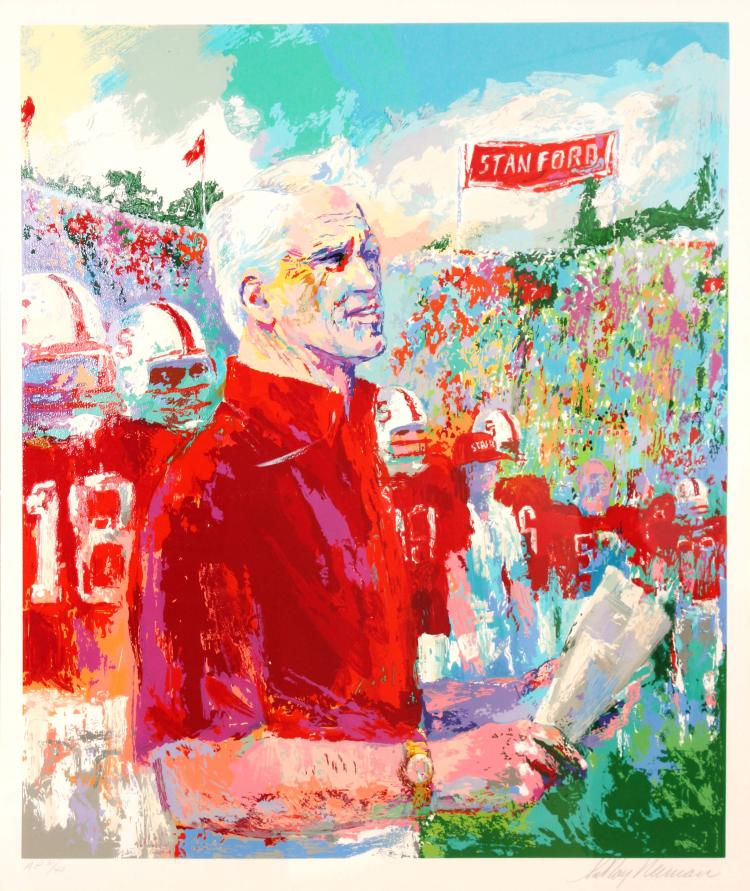 LeRoy Neiman - Bill Walsh