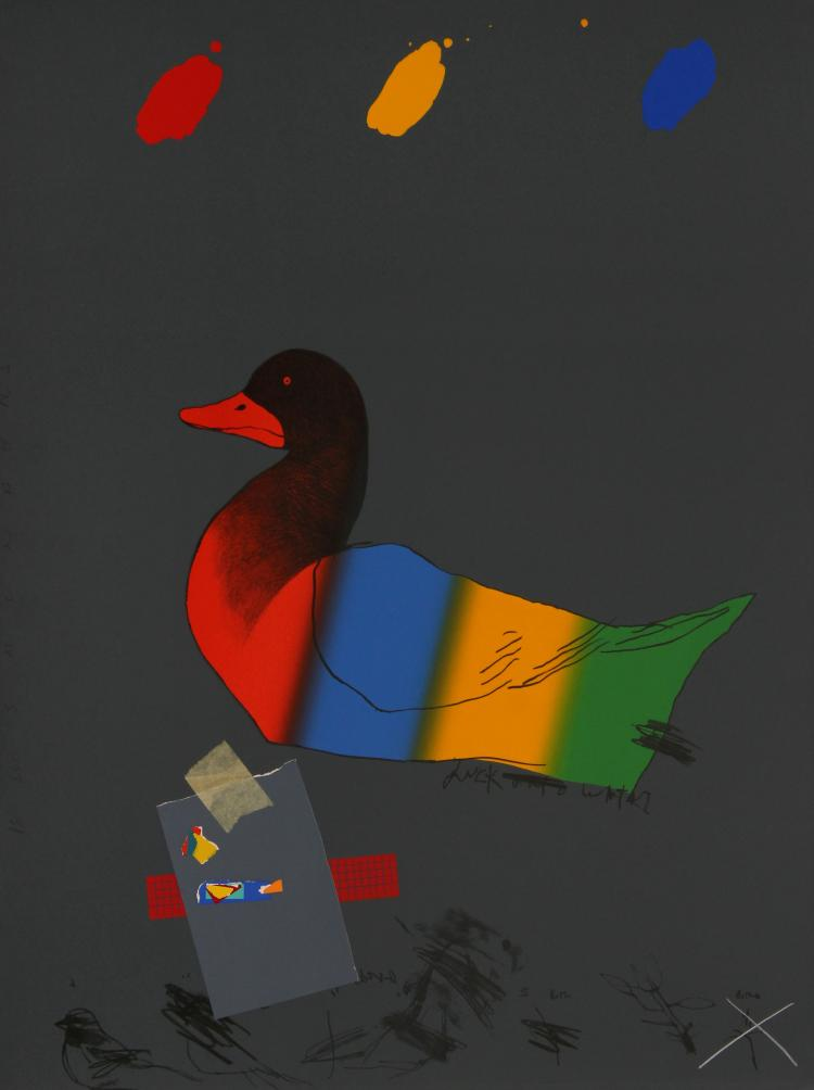 Raymond Saunders - Duck Out of Water