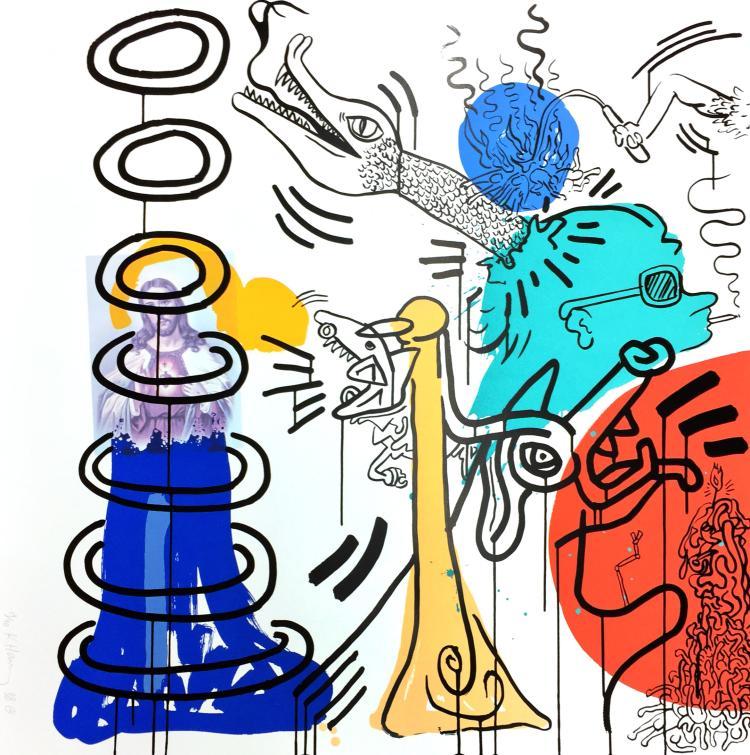 Keith Haring - Apocalypse V