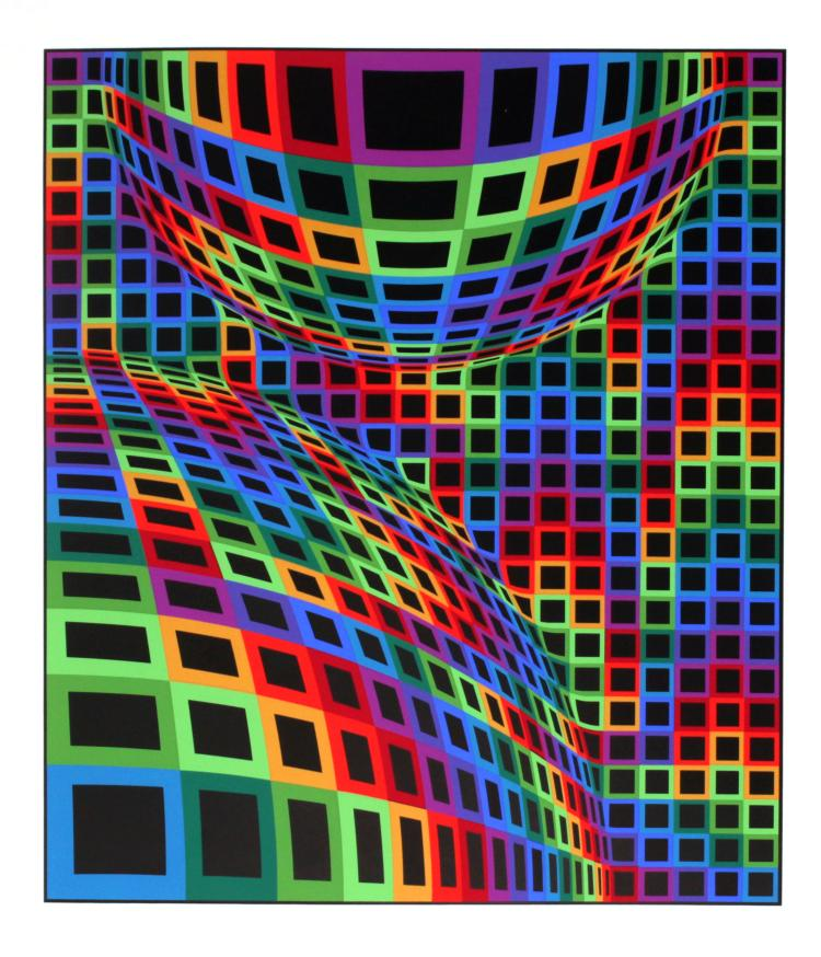 Victor Vasarely - Untitled from