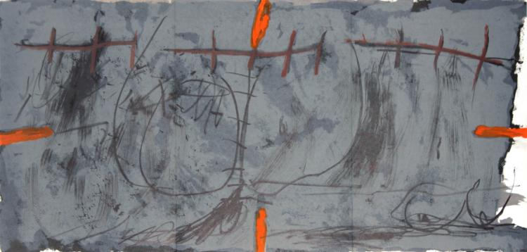 Antoni Tapies - Untitled Lithograph