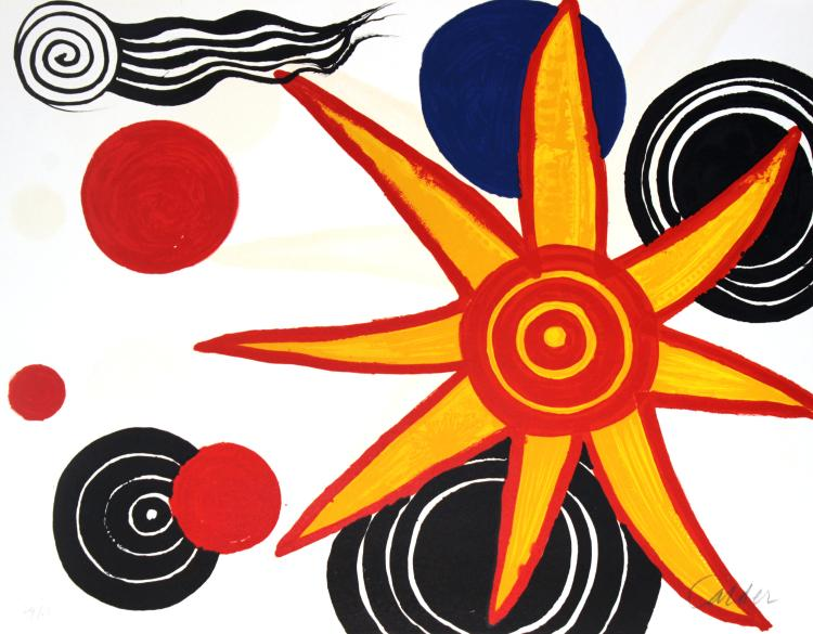 Alexander Calder - Untitled from