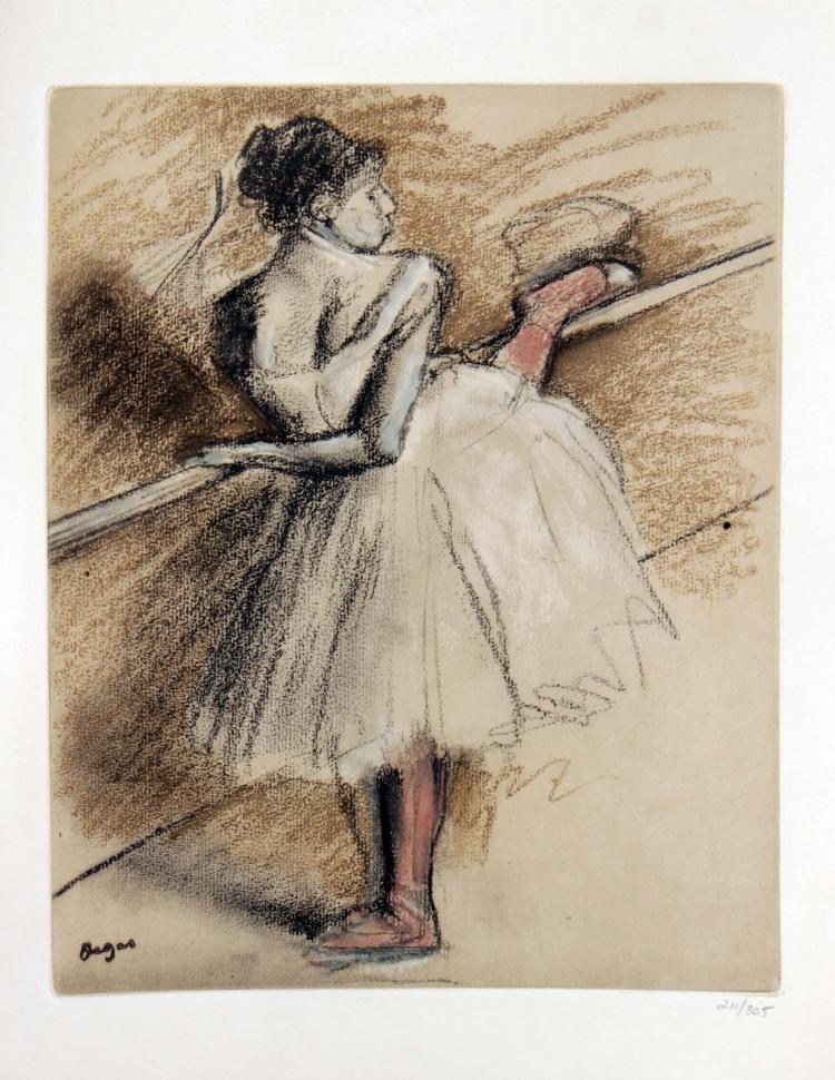 Edgar Degas - Untitled from
