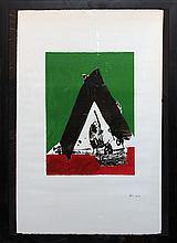 Robert Motherwell, one plate from