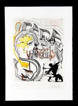 Angel of Dada Surrealism by Salvador Dali