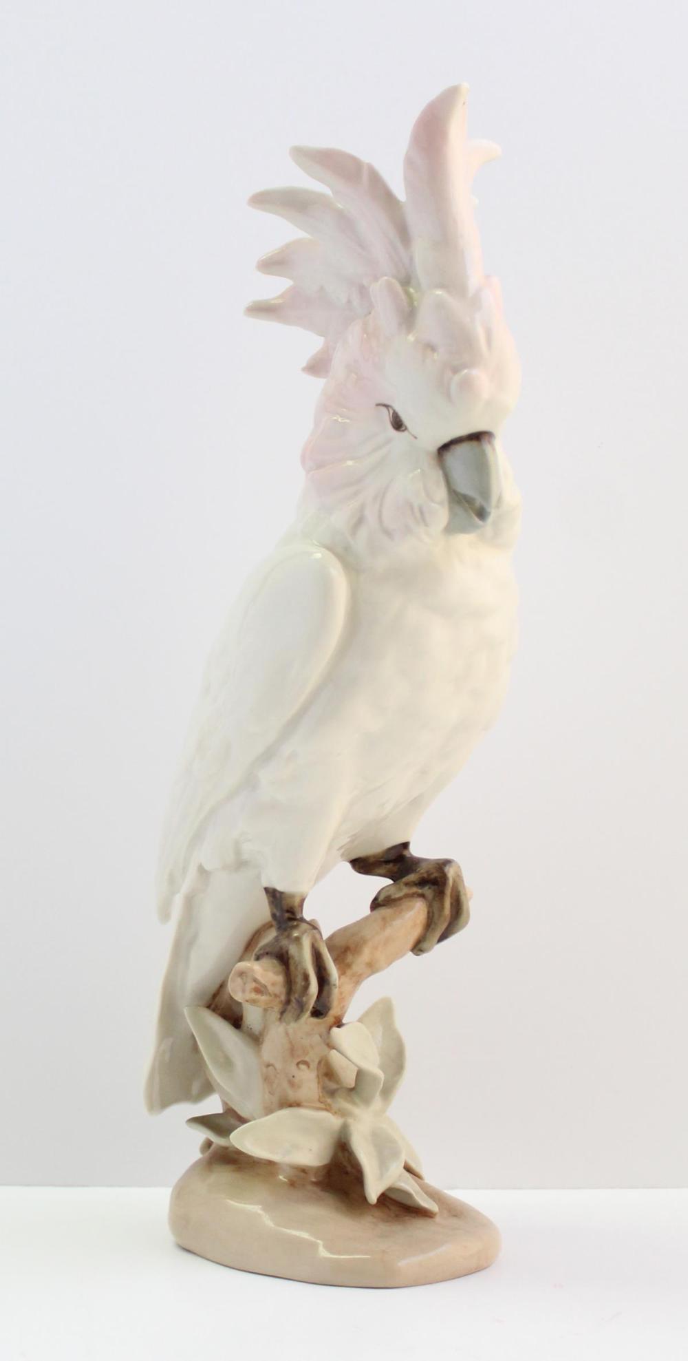 Royal Dux - Cockatiel