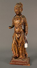 Chinese Antique Goddess size: 17.5