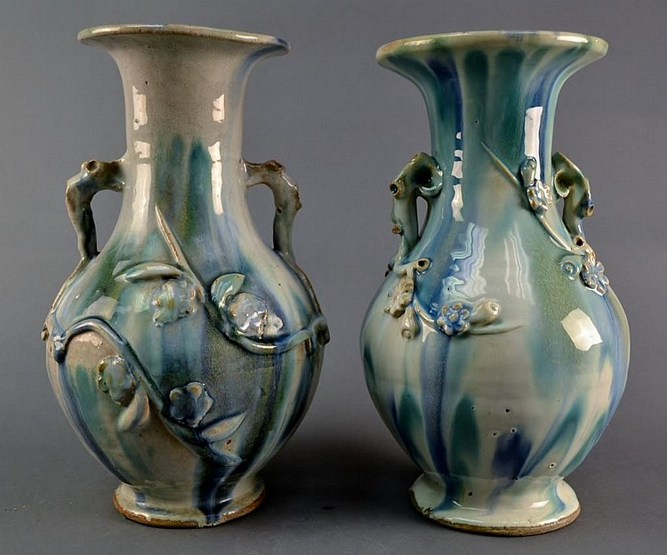 A Pair of Chinese Vases