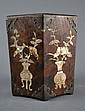Chinese MOP Inlaid Wooden Pot