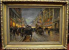 G. OTMAR Painting - Oil on Canvas Size : Frame 47'
