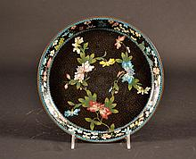 Chinese Cloisonne Plate Size : 8 5/8