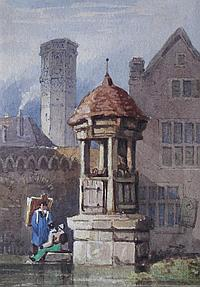 GEORGE PYNE (1800-1884) AT COLOGNE Pencil and
